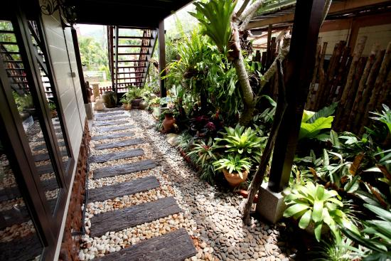 Ao Nang Home Stay: Leisurely afternoons can be spent at the private balcony, which features outdoor seating.