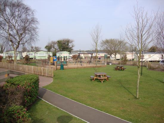 Small Play Park Swings Picture Of Cherry Tree Holiday