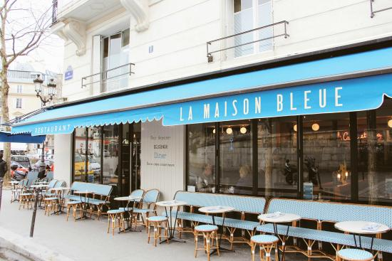 La maison bleue paris 10th arr entrepot updated - La maison du jardin restaurant paris ...