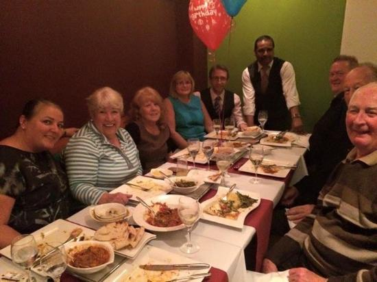 Friends Refined Indian Cuisine: Jenny's Birthday