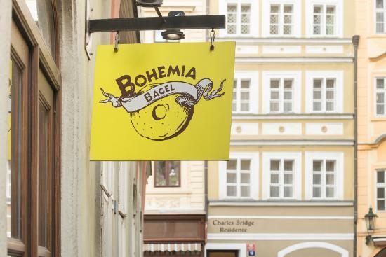 Bohemia bagel restaurant photo de charles bridge for Malostranska residence tripadvisor