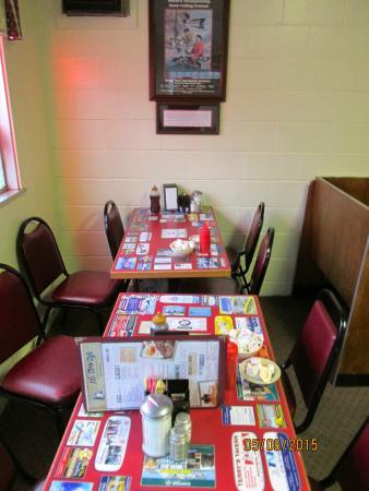 Ala Carte Cafe: Interior