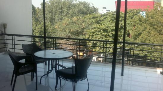 Hotel GTC: From the balcony