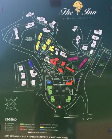Map of The Inn\'s layout and accommodation. Something for everyone ...