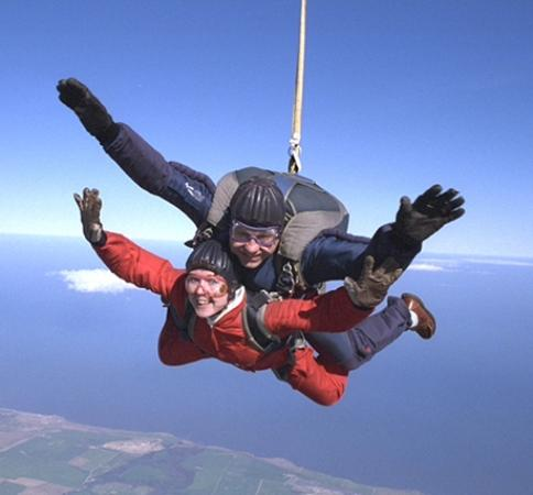 Peterlee Parachute Centre: Tandem Skydive