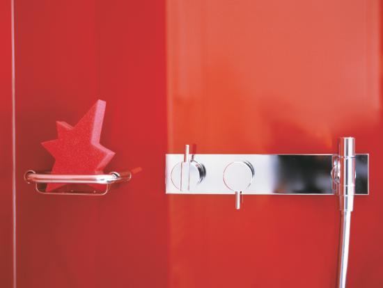 Spitz Hotel: Badezimmer
