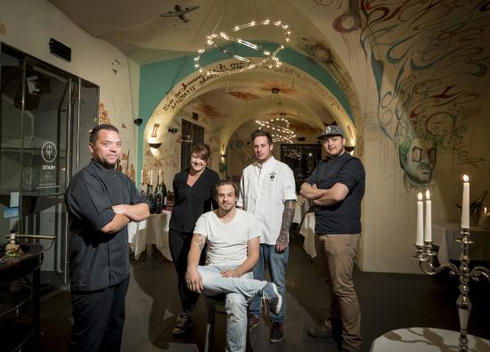 PRATO im Palais: Das Team rund um Patron Michael Pech und Küchenchef Kevin Hamminger