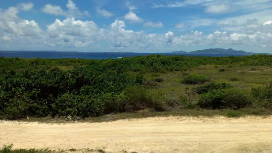 East End Village, Anguilla: View from the porch