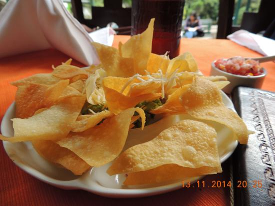 Fortaleza, Aguas Calientes, Peru - chips and beer