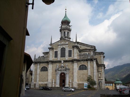 Gandino, Италия: facciata