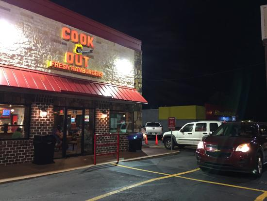 Photo of American Restaurant Cook Out at 719 Jesse Jewell Pkwy Sw, Gainesville, GA 30501, United States