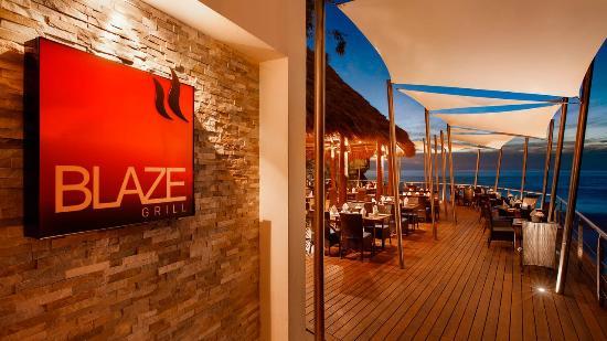Hyatt Ziva Puerto Vallarta Blaze Restaurant