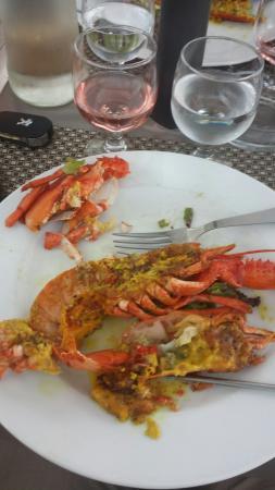 U Rasaghiu: 1/2 homard. ....
