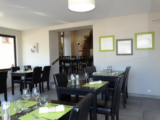 Hotel Restaurant Chaleat-Sapet : Salle de restaurant