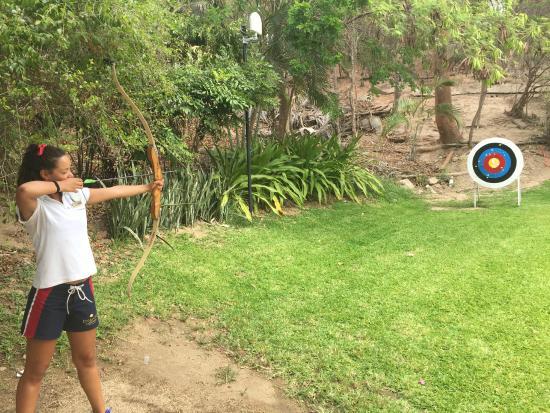 Dreams Huatulco Resort & Spa: Great archery class