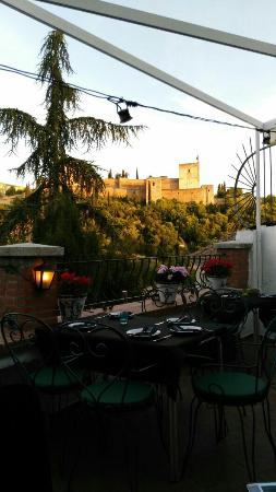 Restaurante El Agua: Excelentes vistas