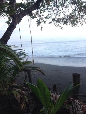 Surf With Amigas- Women's Surf and Yoga Retreat : View from our week long home