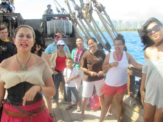 Club Style Evening Cruise Only Picture Of Hawaii Pirate - Pirate ship cruise hawaii