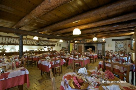 Hôtel-Restaurant La Creche : Restaurant