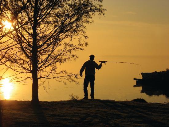 Morgan City, LA: Fishing on Lake Palourde