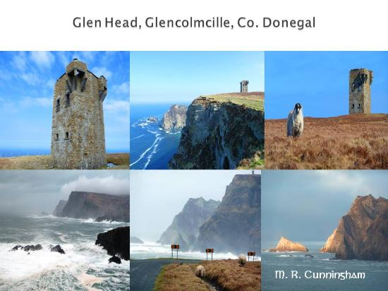 Glencolmcille Folk Village: Majestic Glen Head.