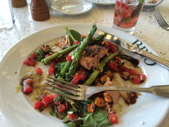 BRIO Tuscan Grille: Grilled Salmon Fresca