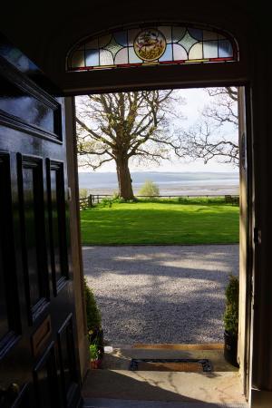 Kiltearn House: Blick durch die Haustür