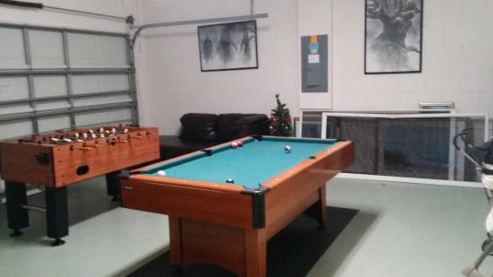 IPG Florida Vacation Homes Garage Game Room
