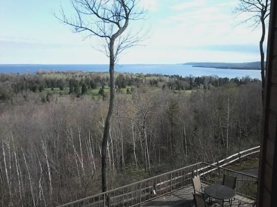 Landmark Resort: view from lakeside