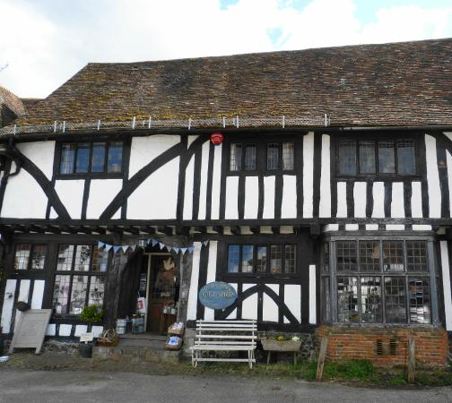Tudor Lodge gift shop, Chilham