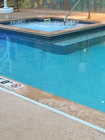 Wyndham Skyline Tower: Hot tub and pool