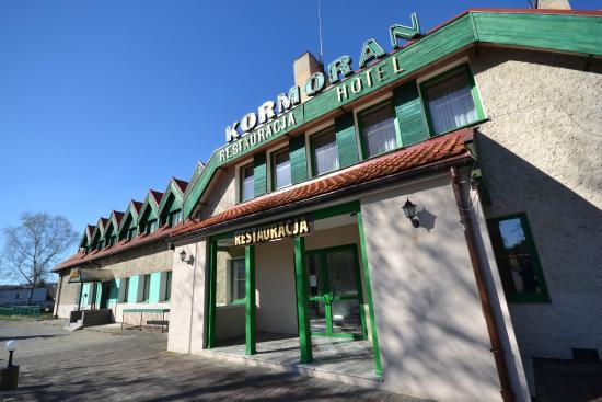 Hotel Kormoran: Widok na hotel