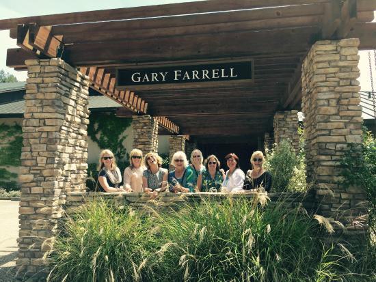 Gary Farrell Winery: Cruising Gals visit Gary Ferrell