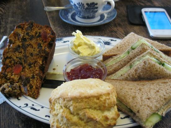The Cobbles Tea Room: Afternoon tea