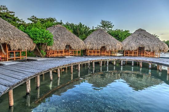 St. George's Caye Resort: Sunset Overwater Cabanas