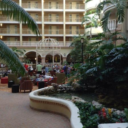 Atrium At Breakfast Time Picture Of Embassy Suites By Hilton