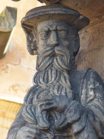 Buchlyvie, UK: Statuary at Stirling Castle