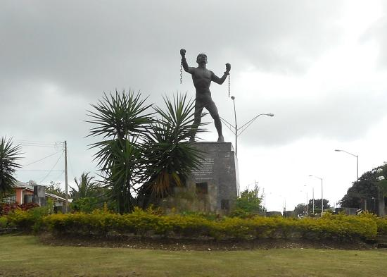 Saint Michael Parish, Barbados: Bussa statue