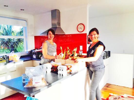 Waiheke Island, New Zealand: Celebrity Chef Ana Schwarz- Food Challenge - Solotel Hospitality Group, Sydney! www.enjoiwaiheke