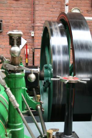 Bolton, UK: Whizzing wheels.