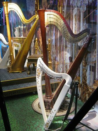 Harp display - Picture of Tianhe Festival Walk, Guangzhou