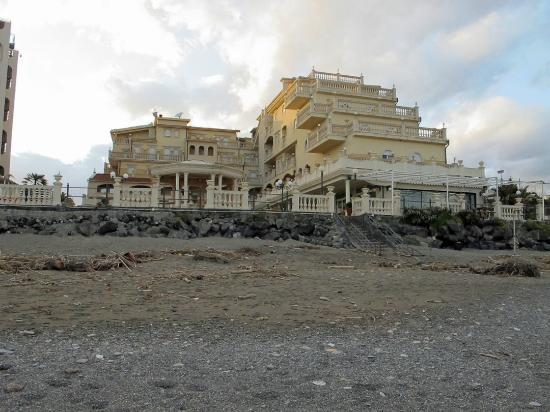 Hotel from beach picture of hellenia yachting hotel giardini naxos tripadvisor - Hotel ai giardini naxos ...