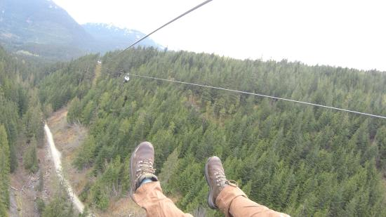 Superfly Ziplines Riding The Longest Zip Line In Canada