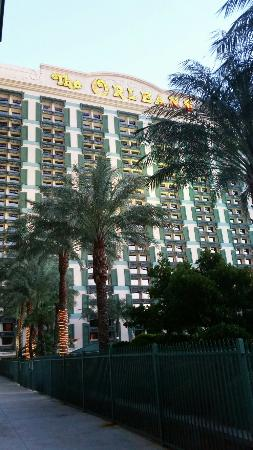The Orleans Hotel & Casino: The orleans hotel in Las Vegas, pool and the room view..