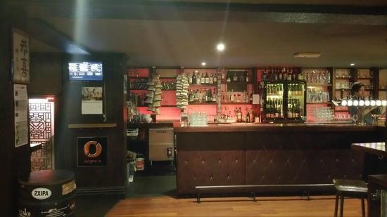 Hashigo Zake: Bar area