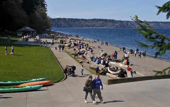 Tacoma, WA: Owen Beach at Point Defiance Park