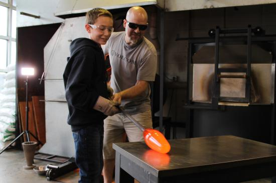 Tacoma, WA: Hands-on Glass Blowing