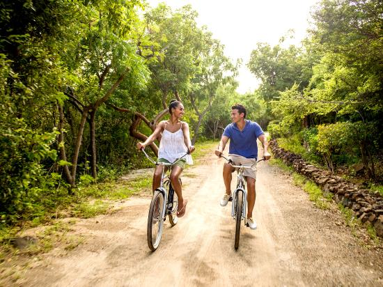 Biking the British Virgin Islands