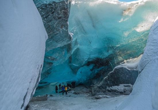 Skaftafell, Ισλανδία: ice cave