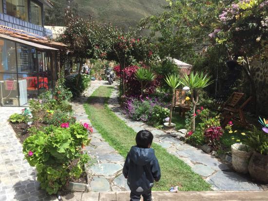 Ccapac Inka Ollanta Boutique Hotel: Garden